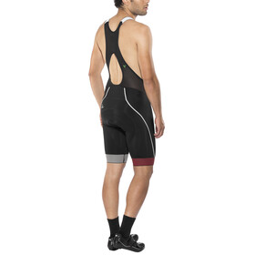 Craft Verve Glow Bib Shorts Men Black/Bright Red